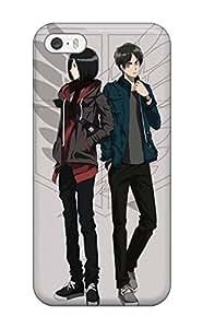 Heidiy Wattsiez's Shop Hot anime anime boys grey shingeki no Anime Pop Culture Hard Plastic iPhone 5/5s cases 7356937K134510982