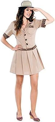 Fyasa 706240-t04 Safari niña disfraz, tamaño grande: Amazon.es ...