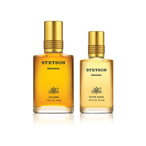Stetson Original 2pc Set - 1.5oz Cologne Pour + 0.75oz After shave (Set Stetson Gift)