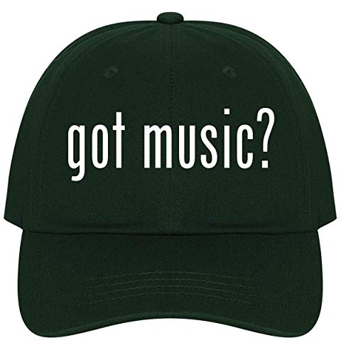 The Town Butler got Music? - A Nice Comfortable Adjustable Dad Hat Cap, Forest