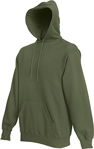 Sweat Shirt Classique Inconnu Hooded Homme Olive fqSn5xEnP