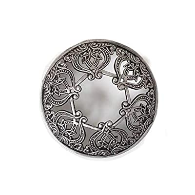 Yankee Candle Everyday Metal Silver Scroll Illuma-Lid Jar Candle Topper