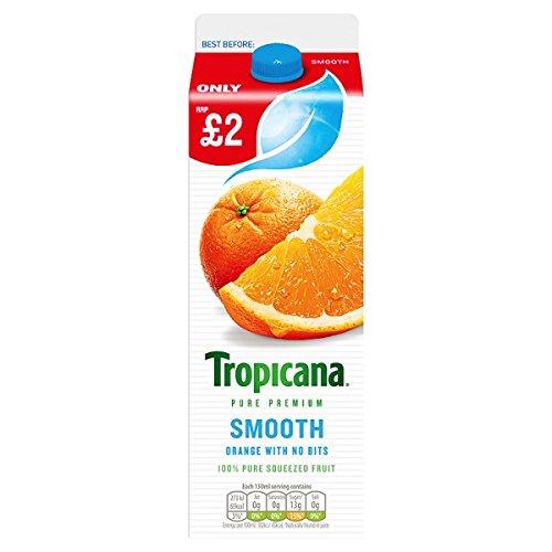 Tropicana Zumo de naranja suave PMP 850 ml (Pack de 6 x 850 ml)