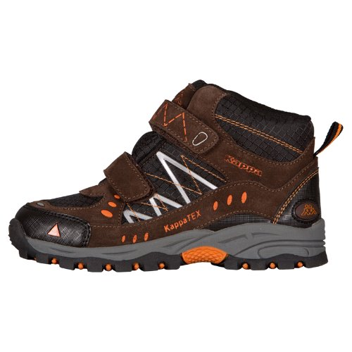 Kappa BLISS Tex Mid K 260099K - Botas de tela para niños Brown/Black 5011
