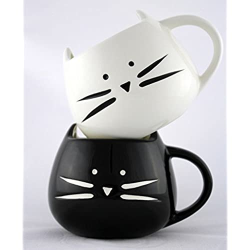 Cute easter presents for girlfriend ifc radio holiday gift cat mug set cute cat coffee mug for your morning coffee or tea negle Image collections