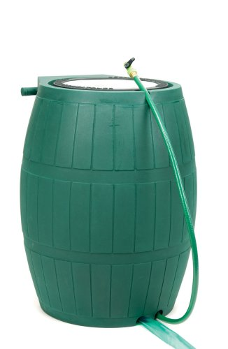 Achla Designs RB-02 Green Rain Barrel - 75 Gallon