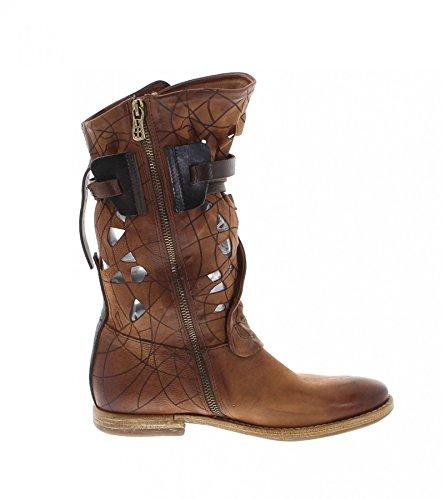 Stivali Moda Fb As98 630301 Stivali Di Pelle Castagna Per Le Donne Stivali Da Donna Marrone Castagna