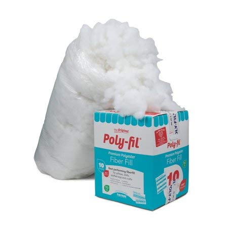 Fairfield 10-Pound Poly-FIL Premium Polyester Fiber, White (Fairfield 10 Pound Poly Fil Premium Polyester Fiber)