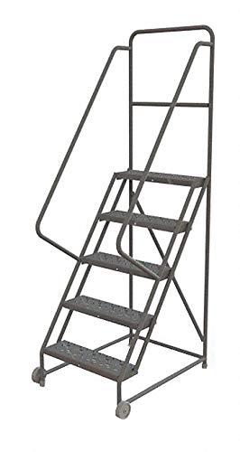Tri-Arc KDTF105246 - Tilt and Roll Ladder 5 Step Perforated
