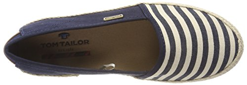 Tom Tailor Women's 4892007 Espadrilles Blue (Navy) QkBHowy