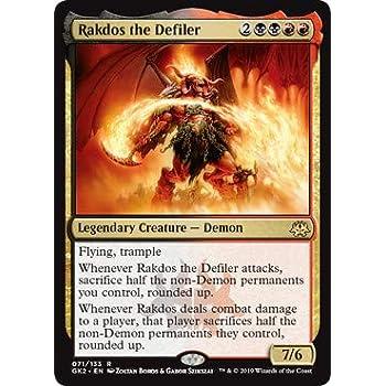 Amazon.com: Magic: The Gathering - Rakdos The Defiler ...