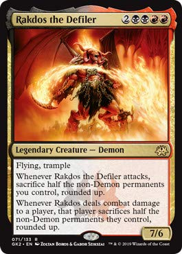 Amazon.com: Magic: The Gathering - Rakdos The Defiler ...