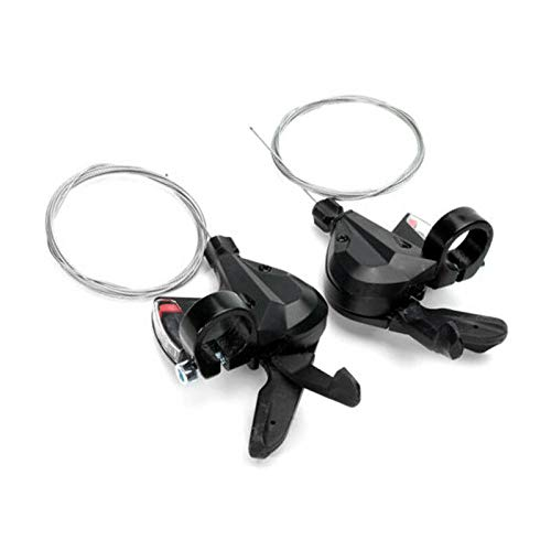 JKSPORTS Shimano OEM Acera Rapid Fire Mountain Bike Shifter Lever Set 3/7 21-Speed 3/8 24-Speed ACERA M310 a Pair (M310 3/8 a Pair)