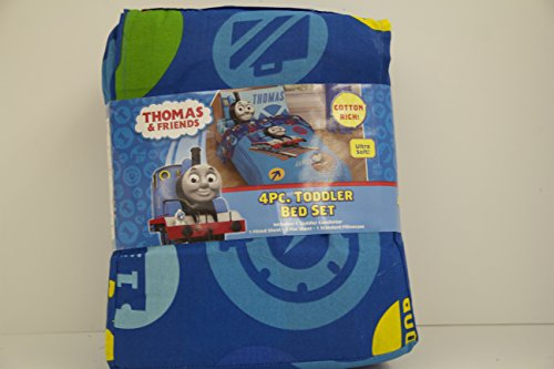 032281226855 - Thomas the Tank Toddler Bed Set carousel main 1