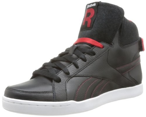 Reebok Sh Court Mid Ii - Zapatillas Negro (Noir (Black/Excellent Red/White))