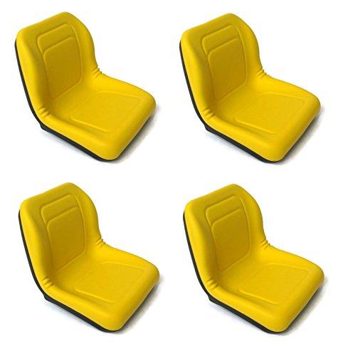 A&I (4) HIGH BACK Seats VG11696 for John Deere Gators UTV...