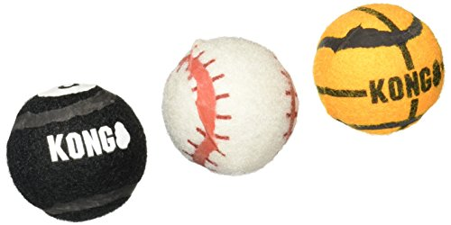 KONG 3 Pack Sport Balls Assorted product image