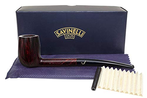 Savinelli Italian Tobacco Smoking Pipes, Bing's Favorite Smooth 6mm (Savinelli Pipe Tobacco)