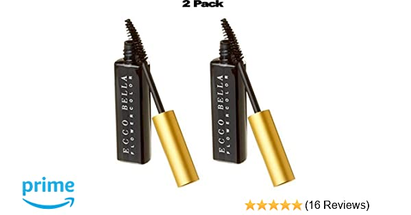 Amazon.com : Ecco Bella FlowerColor Mascara, Black .38 Ounce (Pack of 2) : Beauty