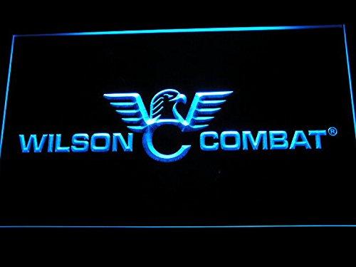 Wilson Combat Firearms Gun LED Neon Light Sign Man Cave D242-B