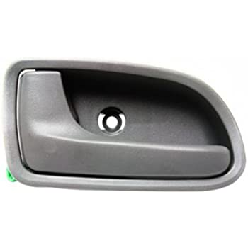 Cpp front driver side gray interior door handle for 2003 2005 kia rio automotive for 2008 kia spectra interior door handle