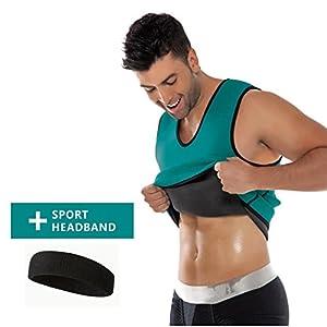Mens Hot Sweat Body Shaper By Jelleo, Slimming Sauna Suits, Waist Trainer  Vests,