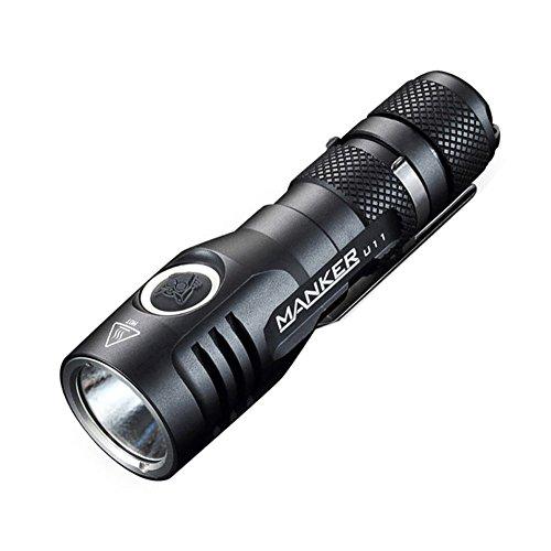 Manker U11 Neutral White NW CREE XPL V5 3D LED USB Flashlight 1050Lumens