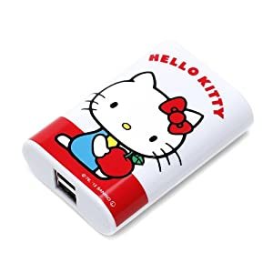 ICharger Sanrio Characters Mobile Battery Charger 5600 MAh Hello Kitty White