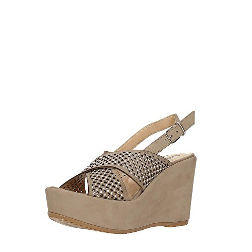 DonnaPiù D52792ELE7.NB01 Zapatos De Cuña Mujer SASSO