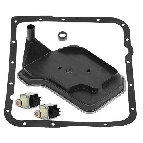 Partsam 4L60E Transmission Shift Solenoid Service Kit Set Filter Gasket A&B 98-Up, Compatible With GM Cars and Trucks ()