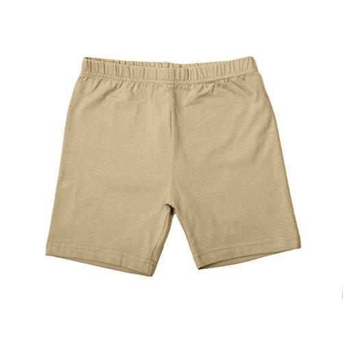 FRENCH TOAST School Uniforms Girls Knit Bike Shorts - H9006 - Khaki, 20 ()