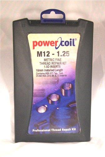Helical Thread Repair Kit, M12x1.25, 10Pcs - Sti Thread