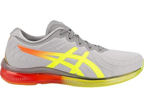 ASICS Women's Gel-Quantum Infinity Running Shoes, 7.5M, MID Grey/Flash Coral