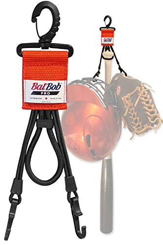 out Organizer - for Baseball and Softball to Hold Bats, Helmets and Gloves (Orange) ()