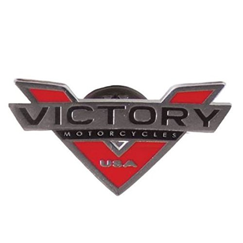 (Victory Motorcycle New OEM V Logo Lapel Pin Badge, 2863293)