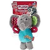 GiGwi Plush Friendz Squeaker Dog Toy (Elephant)
