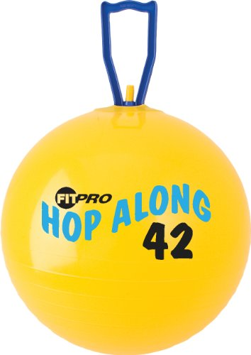 Champion Sports Fitpro 42 cm Hop Along Pon Pon Ball by Champion Sports