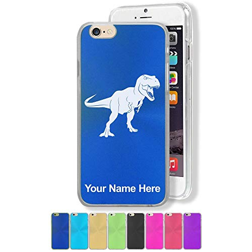 Case Compatible with iPhone 6 and iPhone 6s, Tyrannosaurus Rex Dinosaur, Personalized Engraving Included