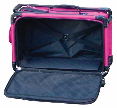 Tutto Machine On Wheels Case 20'X13'X9'-Pink Notions - In Network 4220MA-M-PINK