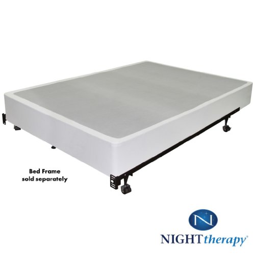 Night therapy 9 inch high profile bi fold box spring for High mattress box spring