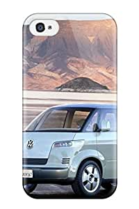 Iphone 4/4s Case, Premium Protective Case With Awesome Look - 2001 Volkswagen Microbus Concept