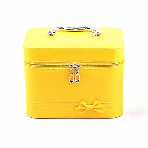 Makeup Bag for Women -Bags-Solid color square portable cosmetic bag fashion square cosmetic case