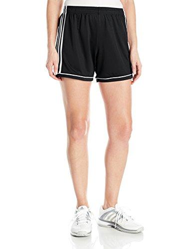 Adidas Women's Soccer Squadra 17 Shorts - Medium - Black/White (Women Soccer Shorts)
