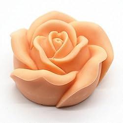 3D Rose Candle Mold - MoldFun 3D Flower Craft Art