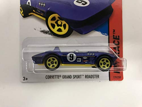 (CORVETTE GRAND SPORT ROADSTER 2015 Hot Wheels HW RACE 179/250 diecast 1/64 scale car)