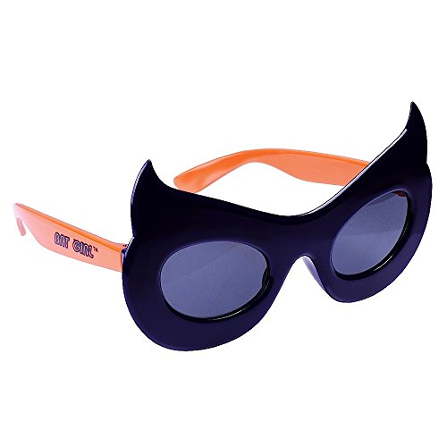 Sunstaches DC Comics Bat Girl Character Sunglasses, Party Favors, UV400