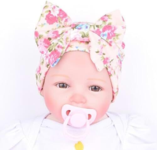 Sunward(TM) Newborn Baby Flower Bowknot Hospital Hat
