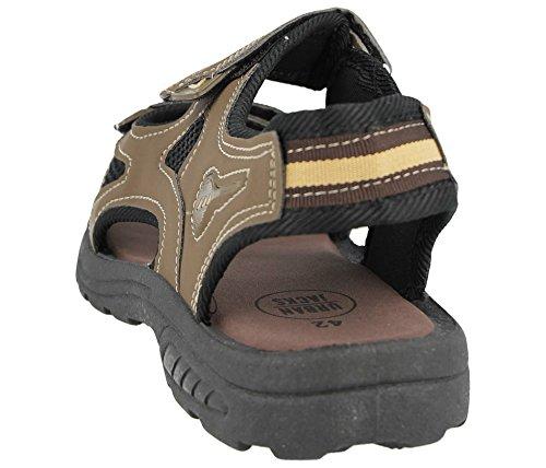 black Sole Donna Brown Ragazzi Uomo Gladiatore Footwear Foster FgRc8nzWUW