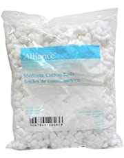 Cotton Balls Non-Sterile by REDMed, Highly Absorbent, 100% Real Cotton. Medium Size 2000/Pack, 12000/Case. Large Size 1000/Pack, 6000/Case. (Medium 2000/Pack)