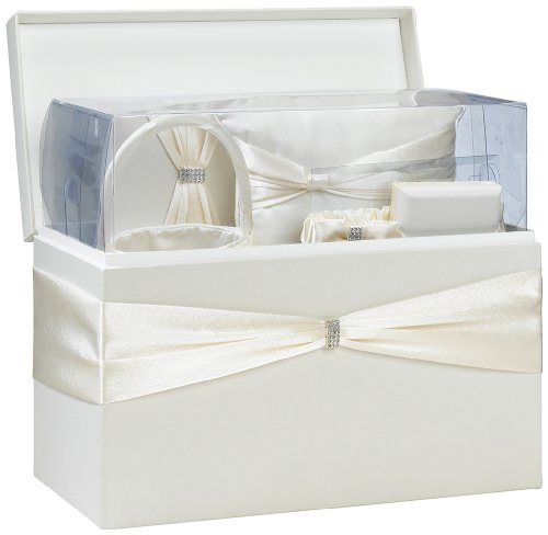 Lillian Rose Complete Ivory Wedding Accessory Kit in a Box